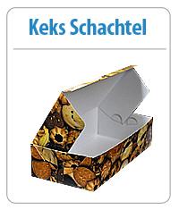 Keks Schachtel